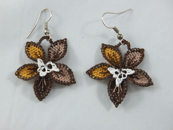 turkish oya earrings