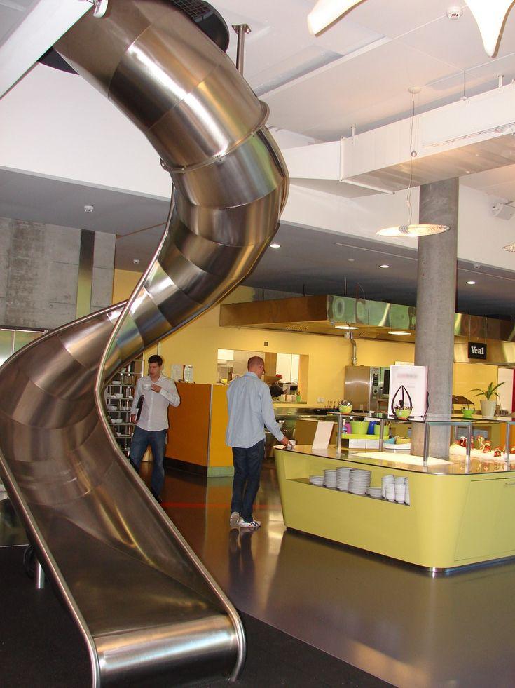 slide google office. Corporate Cafeteria - Google Search. Slide SlideGoogle OfficeMetal Office O