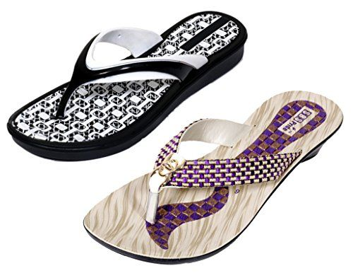 Krocs Super Comfortable Flip flop For Women Pack of 2 Pairs * Check this awesome product by going to the link at the image.(This is an Amazon affiliate link)