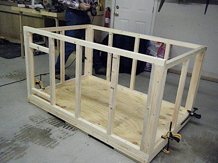 Free Wood Dog House Plans | Insulated Dog House - by Mijohnst @ LumberJocks.com ~ woodworking ...