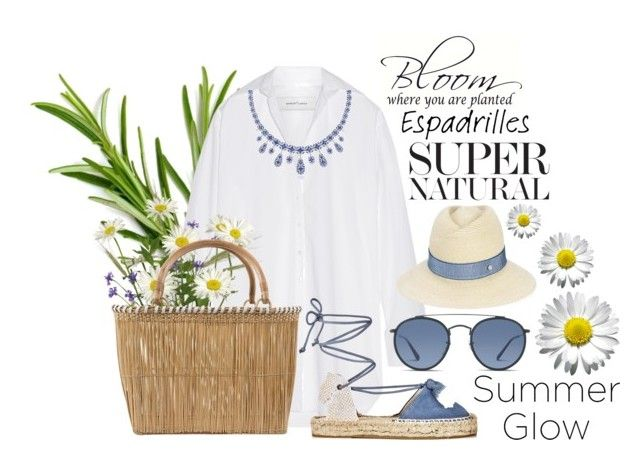Step into Summer: Espadrilles by igiulia on Polyvore featuring Marques'Almeida, Soludos, Serpui, Kwiat, Maison Michel, Ray-Ban and espadrilles