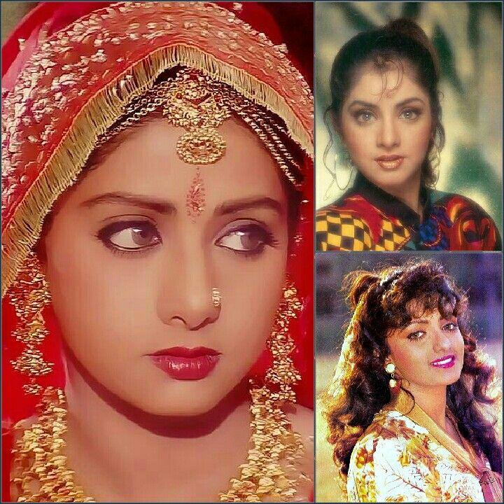 Sridevi-Divya Bharti-Shanti Priya