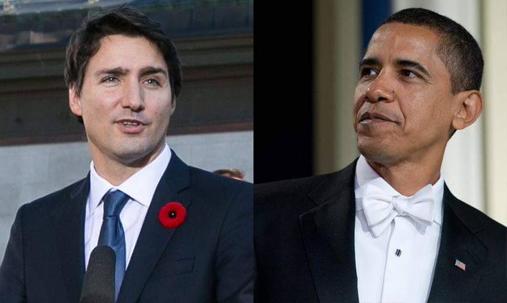 Both Justin and Barack assumed office in their 40s. While the Canadian prime minister started his career as head of government when he was 43, Barack moved into the White House a little later at age 47.