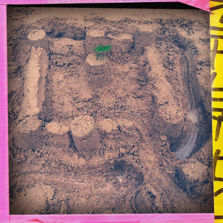 Concours de château de sable sur #Louviers Plage