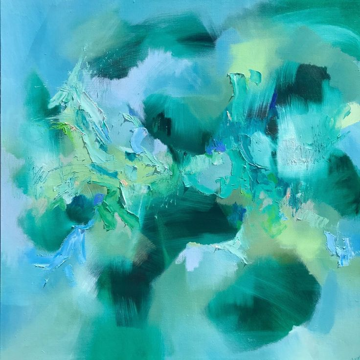 Buy Espoir du matin, a Oil on Canvas by Catherine Hiller from Australia. It portrays: Abstract, relevant to: blue, abstract expressionist, abstract, green, movement My works are raw and visceral, the product of instinct rather than intellect. I am very sensitive to my surroundings – colours, sounds, people and most of all music; every cue, whether visual, aural or emotional, has a colour to me and I try translating it all onto canvas without the distraction of a thought process. I also…