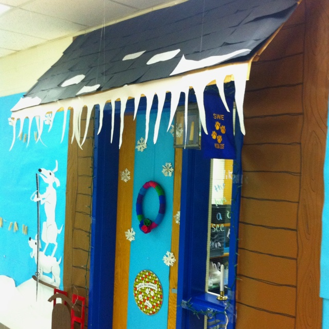 Winter Wonderland Classroom Door Decorations : Images about winter door decoration ideas on
