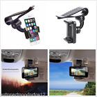 Car Sun Visor Clip Holder Mount Stand for iPhone 6/6S Plus/7 Plus Samsung Galaxy