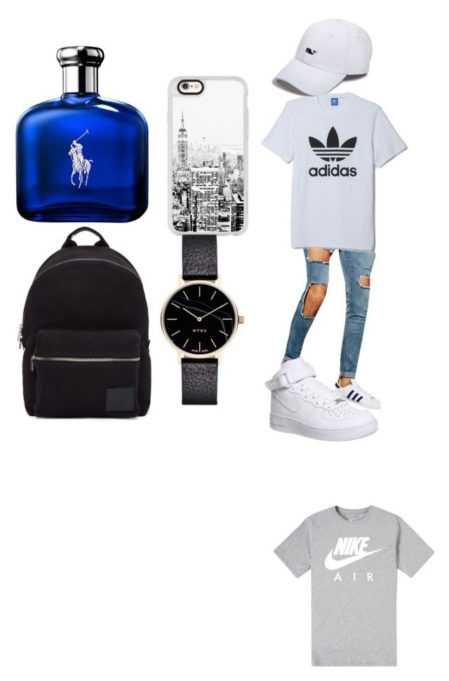 """""""Men's outfit"""" by adine233 on Polyvore featuring NIKE, ASOS, adidas, Vineyard Vines, Casetify, Ralph Lauren, Myku and PS Paul Smith"""