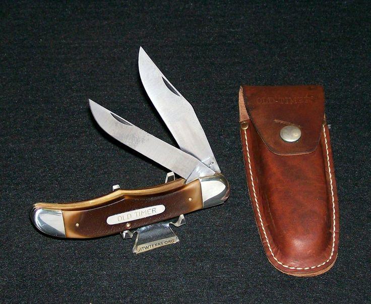 Schrade Walden 25ot Old Timer Hunter S Knife Amp Original