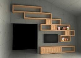Cellaio - ścianka TV
