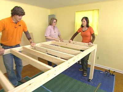 How to build a sewing table! | DIY Network