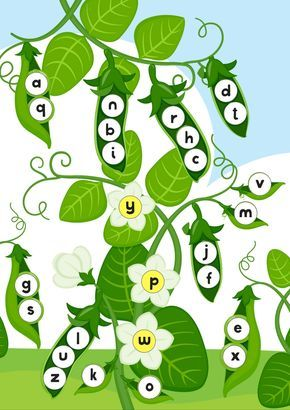 Peas In Pod Printable Pack | Free activity sheets for Pre-K, K1 & K2. Read more @malaysianmom.com