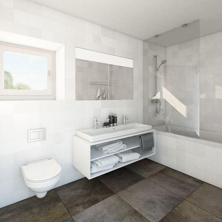 Gautschi Park Badezimmer 3D Visualisierungen