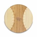 WF Homerun cutting board. Perfect addition for a baseball tailgate!