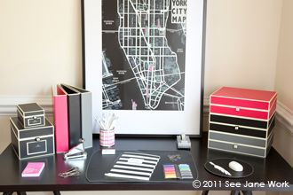 Simple Cute Office Organization  POPSUGAR Home