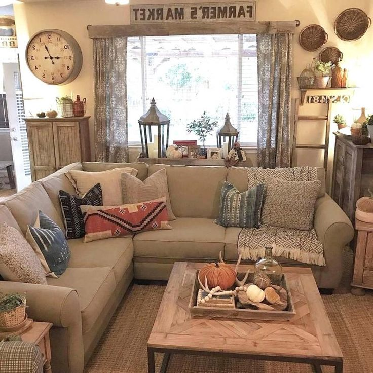 surprising farmhouse style decorating living room | 30+ Inspiring Living Room Farmhouse Style Decorating Ideas ...