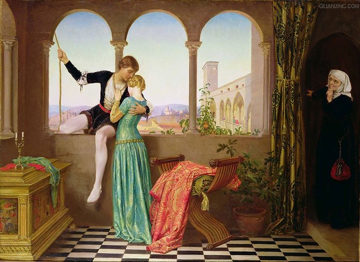 Eleanor Fortescue-Brickdale - Romeo and Juliet Farewell