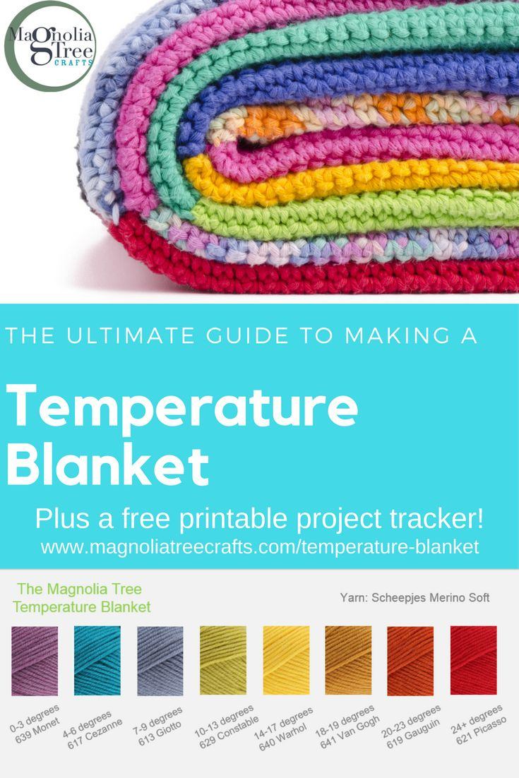 Best 25 how to crochet ideas on pinterest learn to crochet the ultimate guide to making a temperature blanket find ou t what it is bankloansurffo Gallery