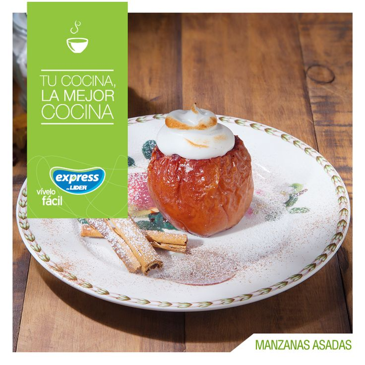 Manzanas asadas  #Receta #ExpressdeLider #Recetario #Manzanas #Postre