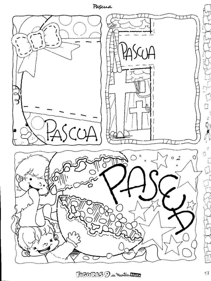 Menta Más Chocolate - RECURSOS y ACTIVIDADES PARA EDUCACIÓN INFANTIL: Dibujos de PASCUA