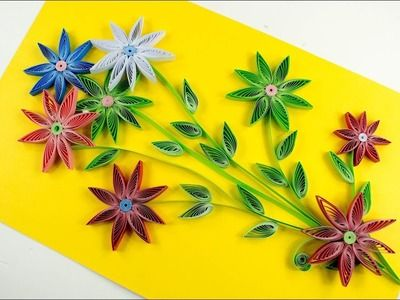 Quilling How To Make Diy Quilling Quilling Art