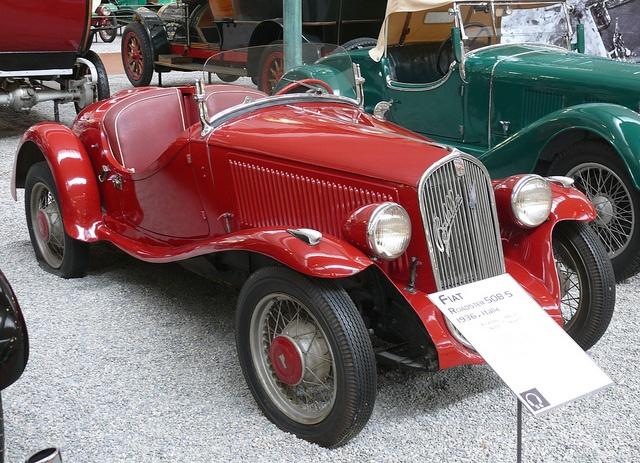 Fiat Roadster 508 S Balilla Coppa dOro 1936