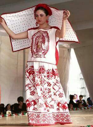 Tipico traje de Colima...