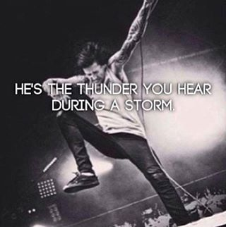 And here in Jersey, on November 1st, 2013, a year after Mitch Lucker's death, it was raining cats and dogs.