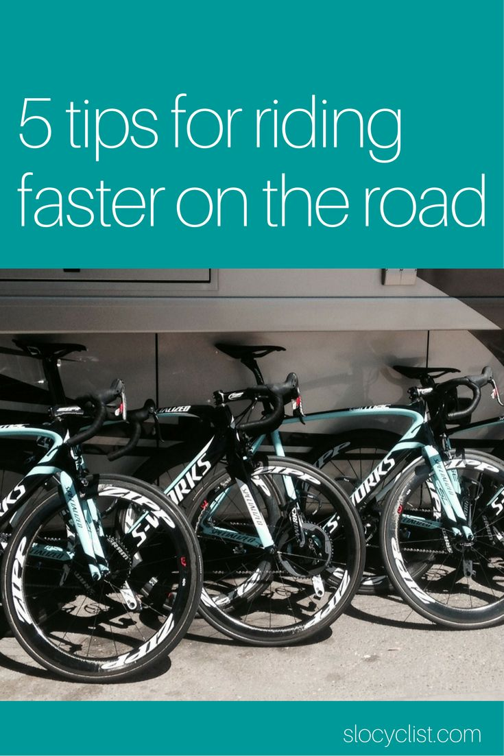 Five ways to ride faster on your road bike | Road cycling tips for cycling faster | Raise your average mph kph