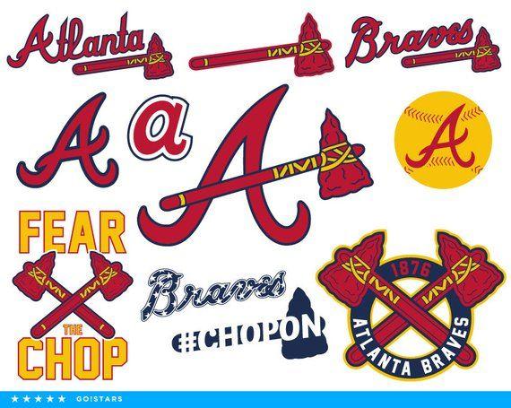 Braves Svg Atlanta Braves Svg Braves Clipart Atlanta Braves Clipart Atlanta Svg Baseball Svg Vector Files Svg Atlanta Braves Braves Baseball Svg