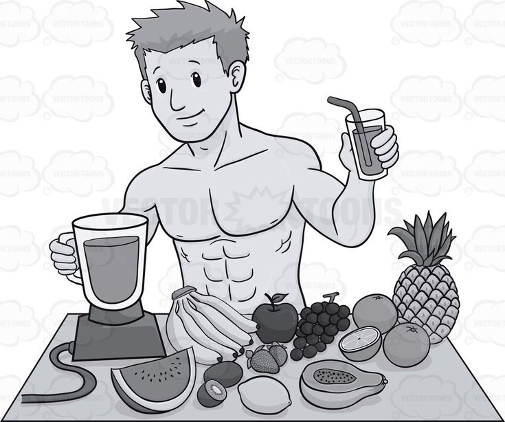 Muscular Guy Preparing A Healthy Drink #apple #banana #blender #chubby #diet #dieting #double-chinned #exercise #exercisingweight #fat #fats #freeweight #fruits #glass #grapes #guy #heavy #kiwi #lean #leanness #lemon #loseweight #male #maleperson #man #obese #orange #papaya #physicalproperty #pineapple #plump #ripped #smoothie #stocky #stout #straw #strawberry #thin #watermelon #weight #weightloss #weightlossprograms #weightwatchers #weightiness #weighting #vector #clipart #stock