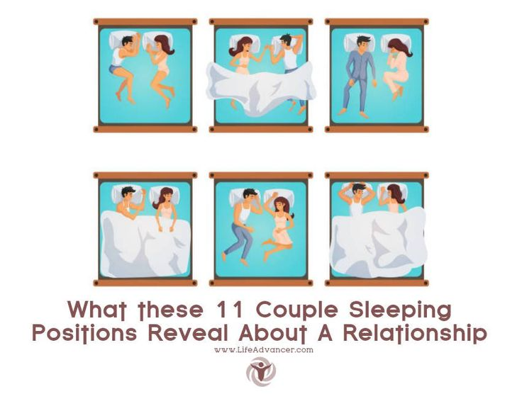What these 11 Couple Sleeping Positions Reveal About A Relationship | via @lifeadvancer | lifeadvancer.com