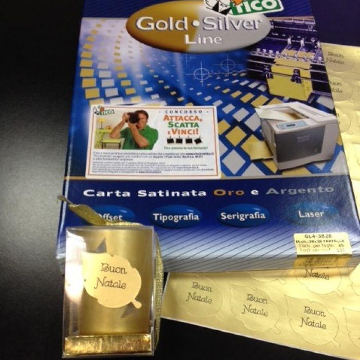 Attacca, Scatta e Vinci! con le Etichette Tico Candela natalizia con etichetta http://www.vincicontico.it/ #etichette #creatività #dyi #etichettepersonalizzate