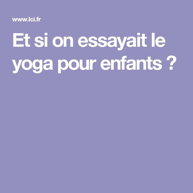 Et si on essayait le yoga pour enfants ? Un beua reportage diffusé le 30 Septembre sur TF1. Plus d'information sur  www.exotao.com ,   @rexotao