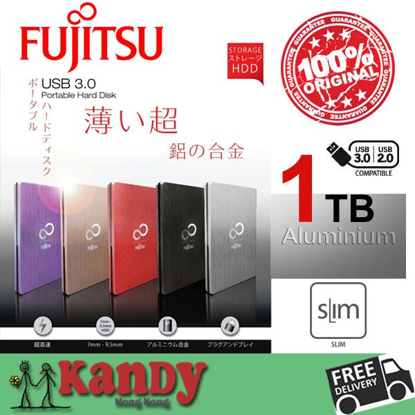 Fujitsu Aluminum USB 3.0 external hard drive hdd 1tb disco duro externo 1to hd disque dur externe harde schijf harici portable #Affiliate