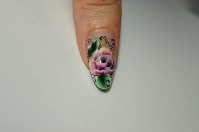 #onestroke #nails #leeuwarden #nagels #nailstyliste #nailart #nailfashion #flower #bloem #nail #loveit