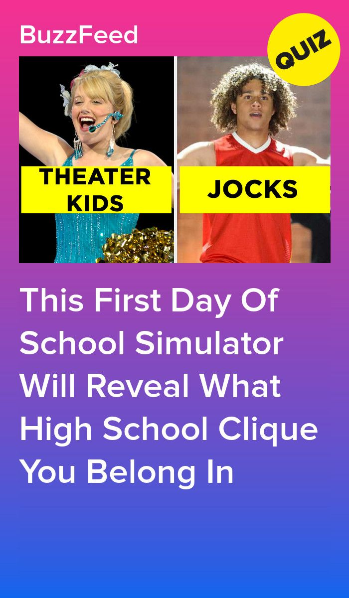 This First Day Of School Simulator Will Reveal What High School