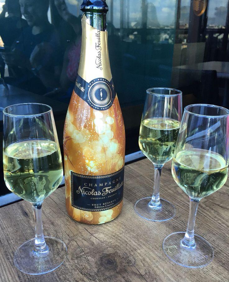 Nicolas Feillautte champagne at restaurant Loiste 10th floor