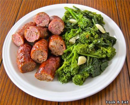 Итальянские сосиски с брокколи - 11 Декабря 2014 - Cook and Eat