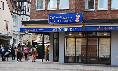 Chocolate shop, Herford, Germany.  Best chocolate on the planet.