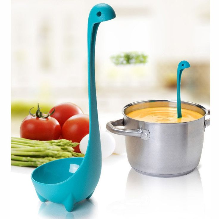 Spoons Loch Ness Monster Dinosaurus Cartoon Kitchen Plastic Spoon Long Handled Spoon Soup Tableware Dinnerware Cooking Tools Kitchen Tools