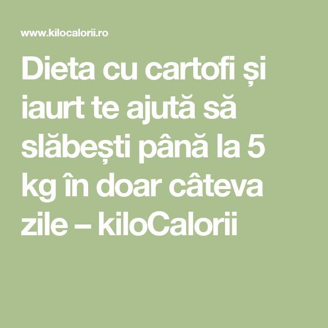 Dieta cu cartofi și iaurt te ajută să slăbești până la 5 kg în doar câteva zile – kiloCalorii