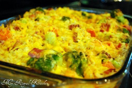 Ham, Broccoli, and Rice Bake: Rice Bake, Pasta Quinoa Rice Recipes, A Recipes Meal Share, Main Dishes, Ham Left Over Recipes, Favorite Recipes, Left Over Ham Recipes