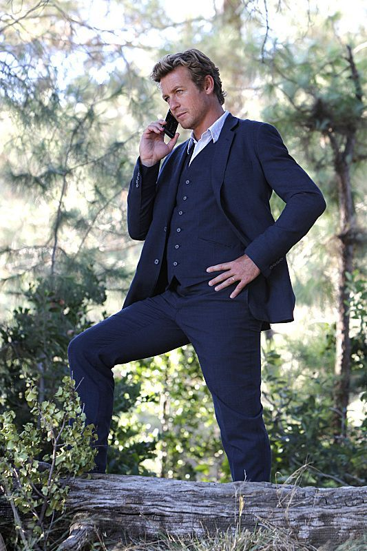 Simon Baker as Patrick Jane in THE MENTALIST Season 6 Episode 3, Wedding In Red. Yum.