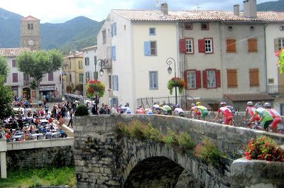 Quillan France - I stayed just by this bridge in a converted barn.