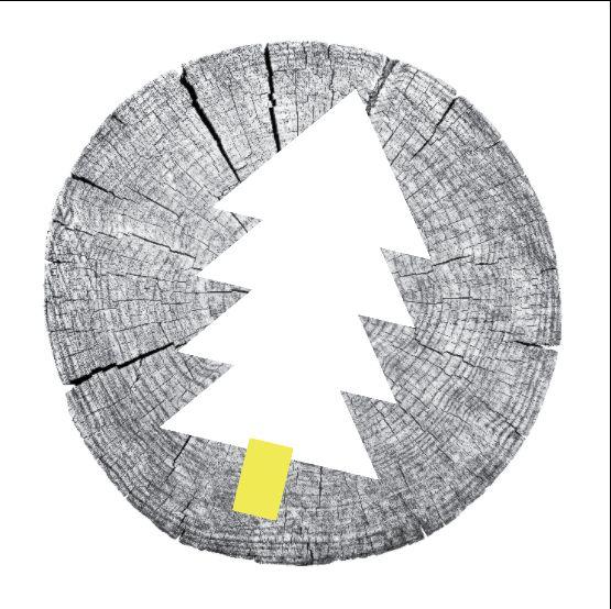 Christmas card design for Cork Printmakers - Shane O Driscoll