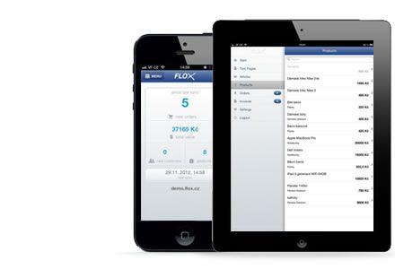 Optimalizácia pre mobily a tablety - internetové stránky majú responzívnu grafickú šablónu. Tvorba webu cez mobilnú aplikáciu - https://itunes.apple.com/sk/app/flox/id593052464?ls=1&mt=8 alebo https://play.google.com/store/apps/details?id=com.breele.flox&hl=sk?utm_source=newsletter&utm_medium=e-mail&utm_campaign=27-03-2014-android-app-flox2