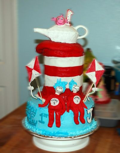 Cat in the Hat: Funny Cakes, Cakes Ideas, Cat, Hats Cakes, Cake Ideas, Cute Cakes, Parties Ideas, Dr. Seuss, Birthday Cakes