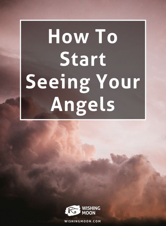 How To Start Seeing Your Angels | Wishing Moon | Spirituality | Psychic Readings | Spirits | Guardian Angels