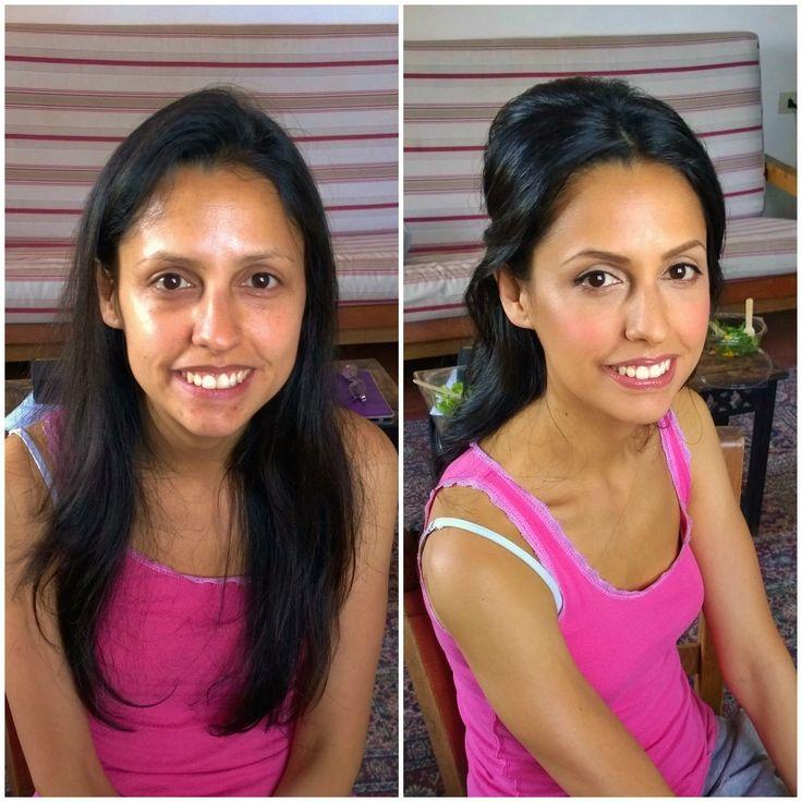 Indian wedding in Italy hair and makeup in Rome by Janita Helova www.janitahelova.com